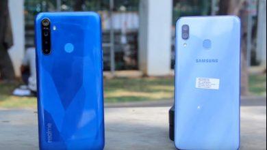 realme 5 vs Samsung Galaxy A30