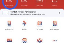 Cara transfer saldo LinkAja Techdaily