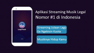 aplikasi streaming musik gratis
