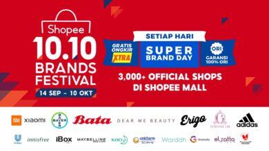 Shopee 10.10 Brand Festival
