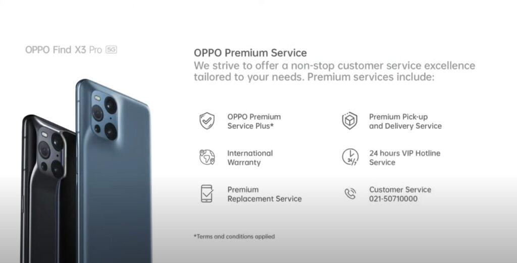 OPPO Premium Service
