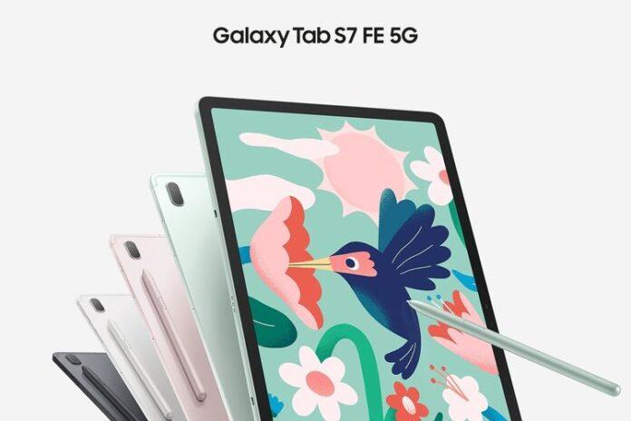 spesifikasi samsung galaxy tab s7 FE 5G