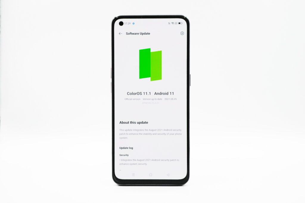 Update firmware REno5 5G