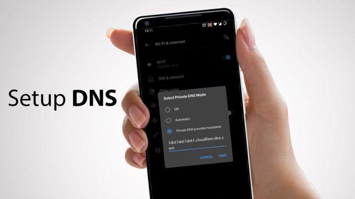 cara ubah dns di android