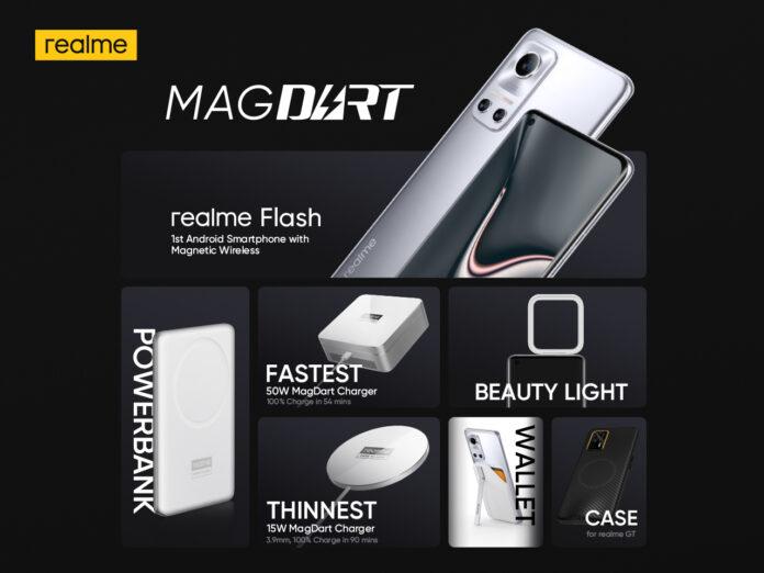 perangkat realme MagDart