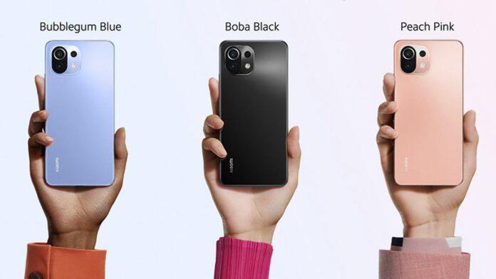 spesifikasi Xiaomi 11 Lite 5G NE