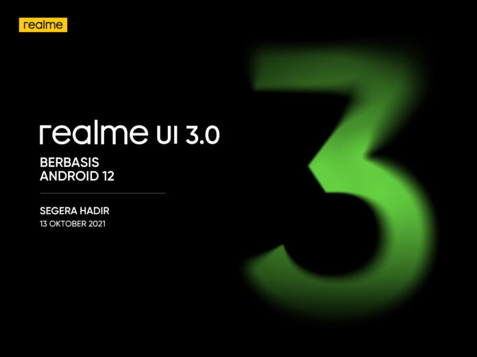 realme GT Dapat Update Android 12
